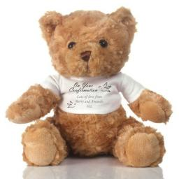 Personalised Teddy Bear Confirmation