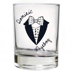 Personalised Dotty Juice Glass Young Male Role
