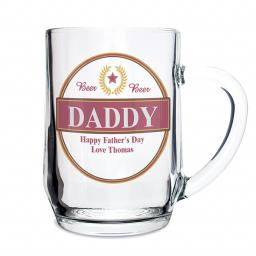 Personalised Luxury Beer Pint Tankard