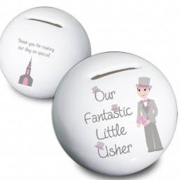 Fantastic Little Usher China Moneybox