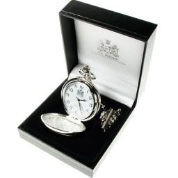 Personalised On Your Graduation Quartz Pocket Watch