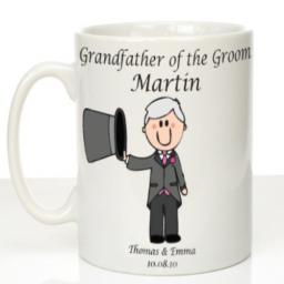 Personalised Wedding Mug Grandfather of the Groom