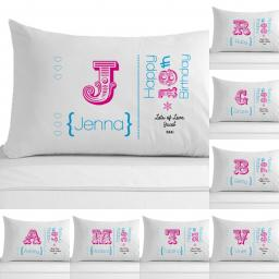 Personalised Pillowcase Female Adult Birthday