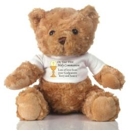 Personalised Teddy Bear First Holy Communion