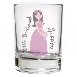 Personalised Fabulous Juice Glass Female Role