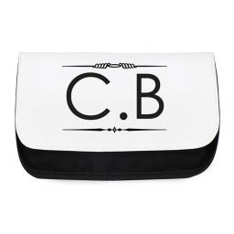 Personalised Mens Wash Bag Toiletries Shaving Travel Case Initials