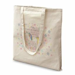 Personalised Always Be A Unicorn Cotton Tote Bag
