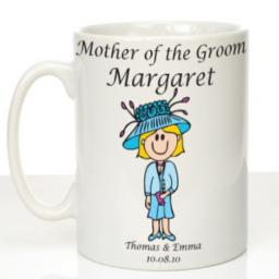Personalised Wedding Mug Mother of the Groom