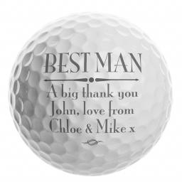 Personalised Golf Ball Add Name / Role / Message