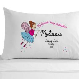 Personalised Pillowcase My Special Fairy Godmother