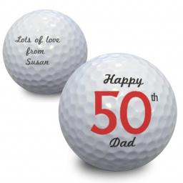 Personalised Birthday Golf Ball