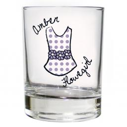 Personalised Dotty Juice Glass Young Female Role
