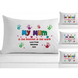 Personalised Pillowcase My / Our Mum / Mummy