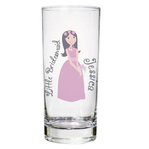 Personalised Fabulous Hi-Ball Glass Female Role