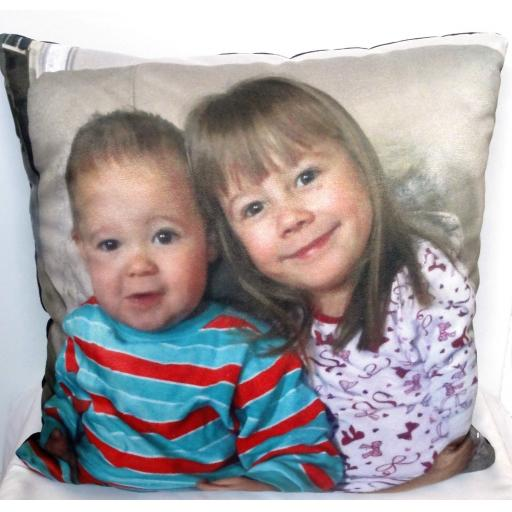 Personalised Photo Cushion 45cm - Double Sided