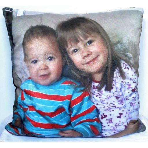 Personalised Photo Cushion Large
