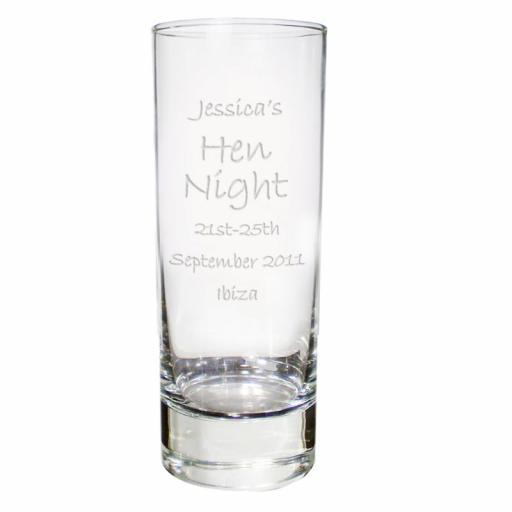 Personalised Engraved Shot Glass