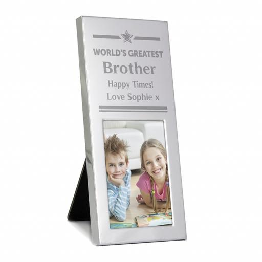 World's Greatest Personalised Small Photo Frame