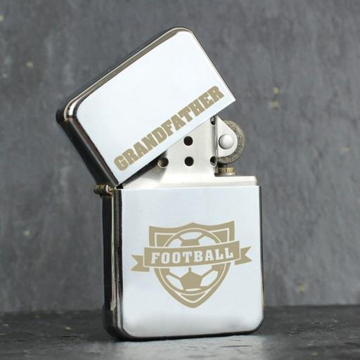 Personalised Lighter Football Add Name