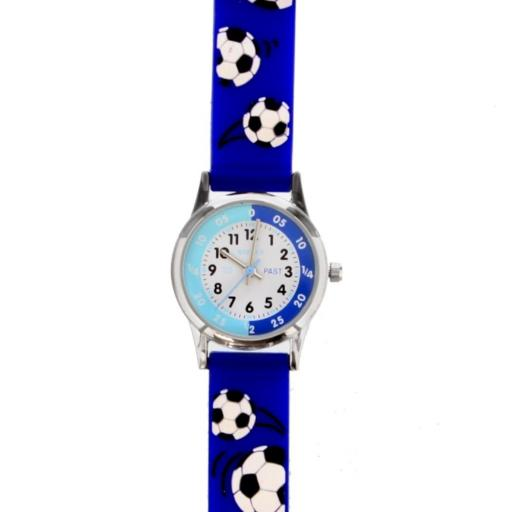 Personalised Children's Blue Time Teacher Watch with Presentation Box