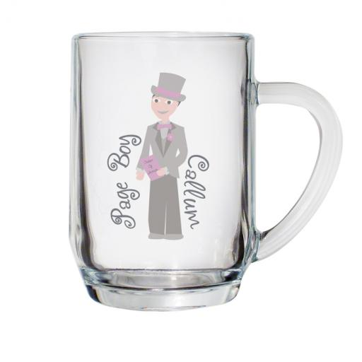 Personalised Fabulous Pint Tankard Glass Younger Male Role