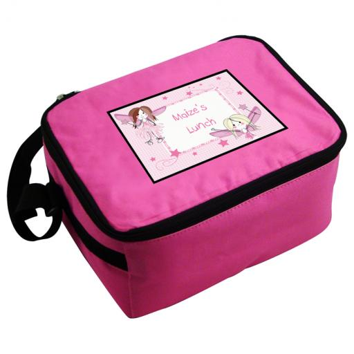 Personalised Girls Fairy Lunch Bag