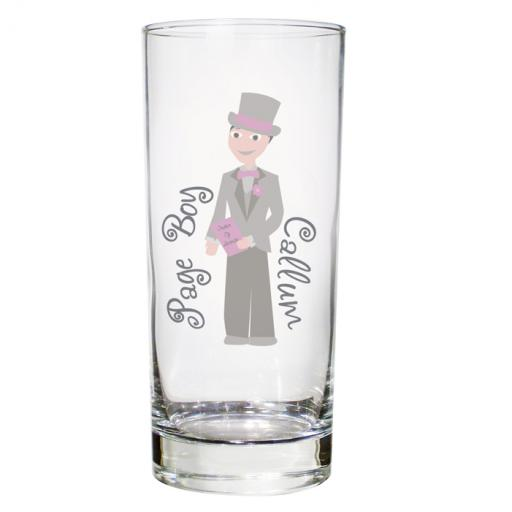 Personalised Fabulous Hi-Ball Glass Male Role