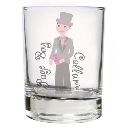 Personalised Fabulous Juice Glass Male Role