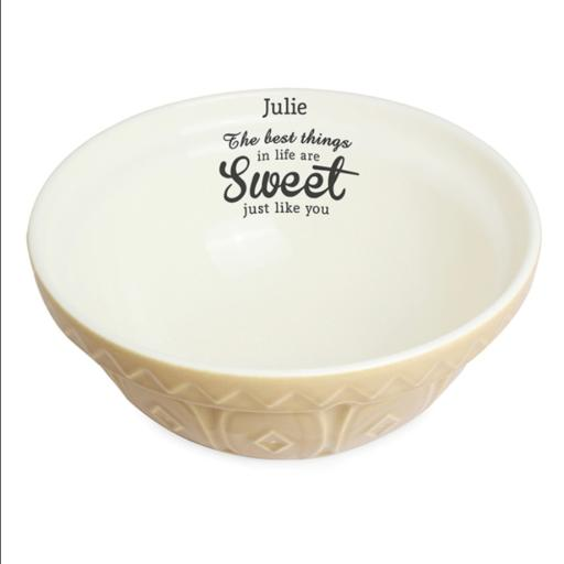 Personalised Best Things... Baking Bowl