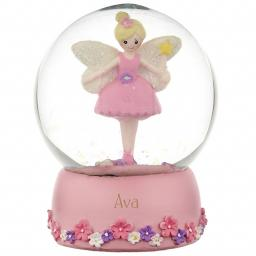 Personalised Fairy Snow Globe Any Name