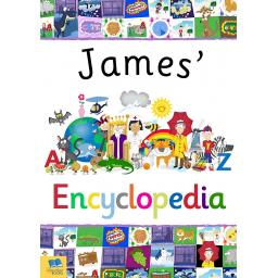 Personalised Children's A4 Colour Encyclopedia