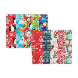 10 Sheets Christmas Wrapping Paper