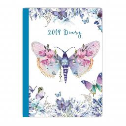 2019 Journal Diary - Butterfly & Moth Design