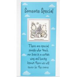 "Angels at Heart ""Someone Special"" Greeting Card with Removable 3D Fridge Magnet Keepsake"