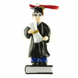 Personalised Male Graduate Hanging Decoration/Ornament