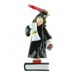 Personalised Female Graduate Hanging Decoration/Ornament
