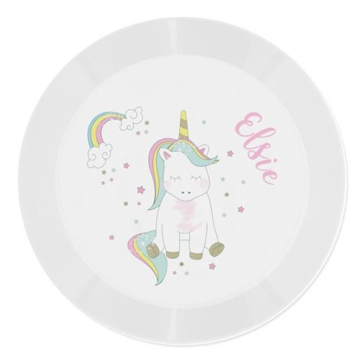 Personalised Children's Plastic Plate