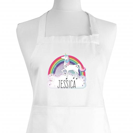 Personalised Unicorn Child's Apron