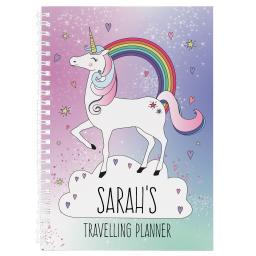 Personalised Unicorn Diary