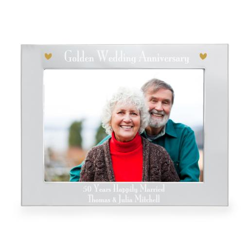 Personalised 50th Anniversary Frame