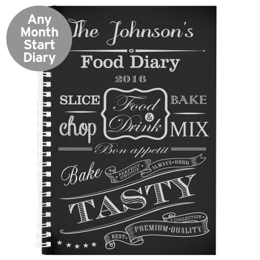 Personalised Recipe Diary