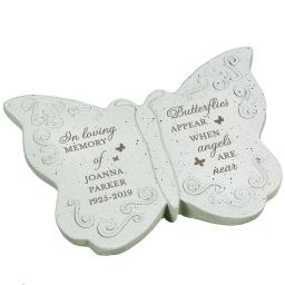 Personalised In Loving Memory Memorial Butterfly