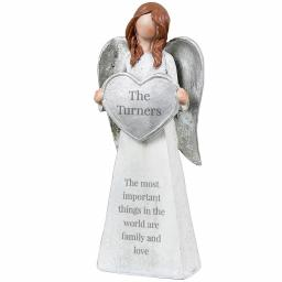 Personalised Any Message Angel Ornament