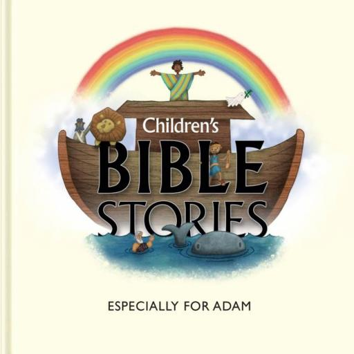 Personalised Children's 5 Bible Stories from The Old Testament (Hardback)